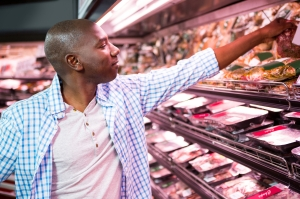 Image of man grocery shopping courtesy of dreamstime_l_77860960