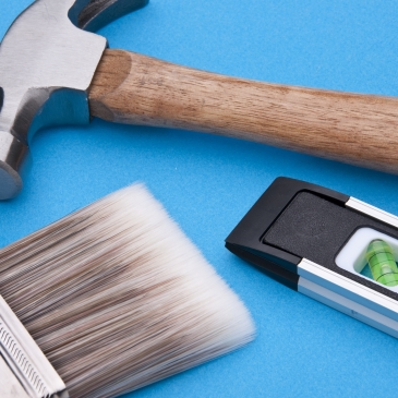 Image of tools used for home improvement